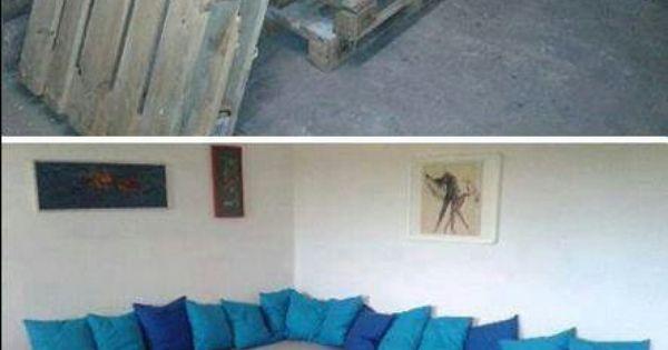 Reciclaje reciclaje pinterest pal s sof s y revistas - Reciclaje de pales ...