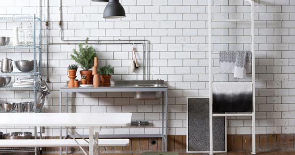 Industrial kitchen styling susanna vento for deko for Industrial deko