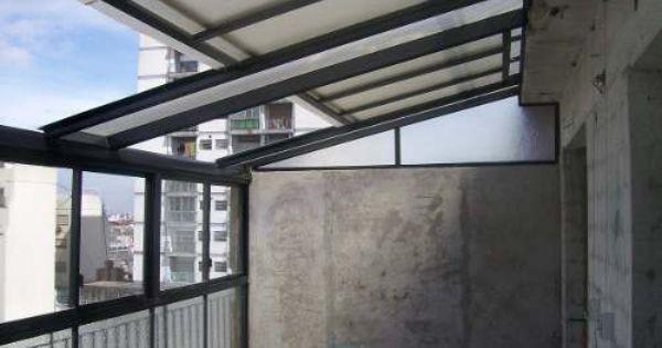 Techos corredizos traslucidos cerramientos de aluminio patios pinterest techos corredizos - Techos de aluminio para terrazas ...