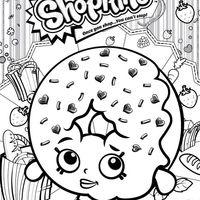 Desenho De Shopkins Donuts Para Colorir Com Imagens Colorir