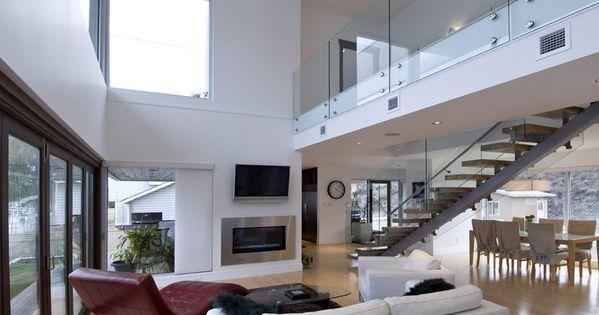 Open Plan Interior Design contemporary beach house plan | residence open plan interior