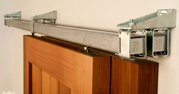 Real Sliding Hardware Box Rail Bypass Barn Door Hardware