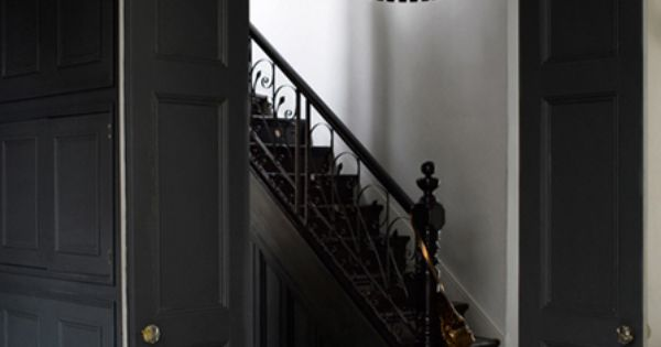I love these doors and that chandelier around the house pinterest verlichting - Hal ingang ontwerp ...