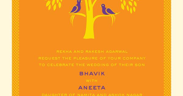 Indian Invitation is best invitations example