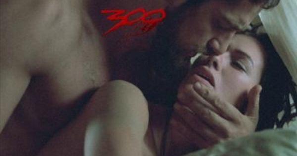 Gerard Butler As King Leonidas Lena Headey As Queen Gorgo In