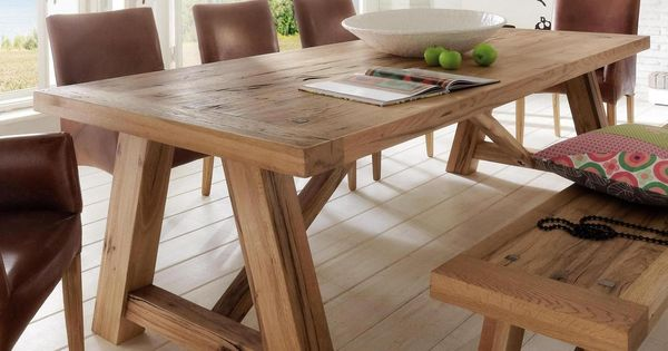 balken tisch holz m bel pinterest tisch holz und wohnzimmereinrichtung. Black Bedroom Furniture Sets. Home Design Ideas