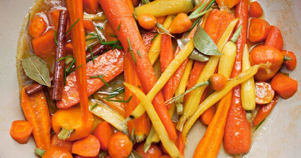 Give your vegetables a flavor boost this Christmas with Chardonnay-Glazed Carrots. More