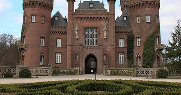 Schloss Moyland, Moyland Castle, Germany is a moated castle in Bedburg-Hau in