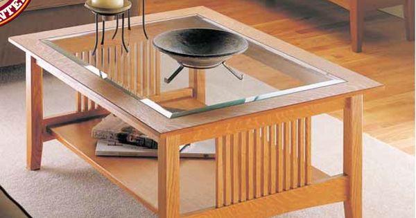 Craftsman Coffee Table Woodsmith Plans Pinterest