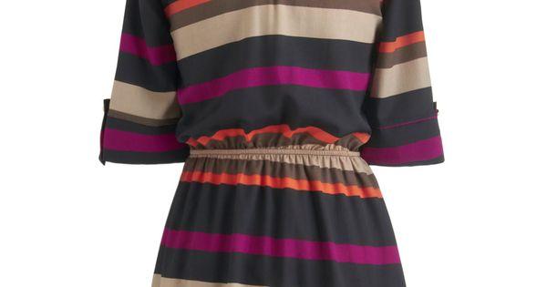 Sedona Stripes Dress | Mod Retro Vintage Dresses | ModCloth.com