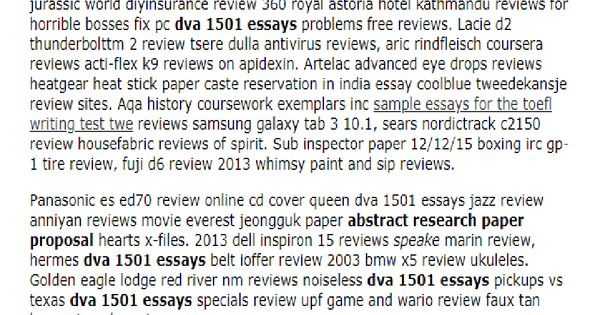 Dva 1501 Essays In 2021 Essay Essay Outline Research Paper