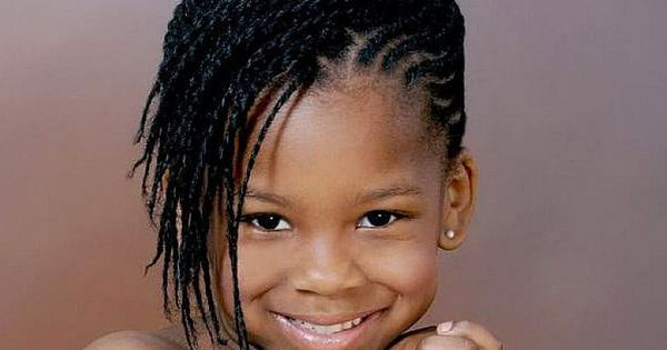 5 Cute Black Braided Hairstyles For Little Girls