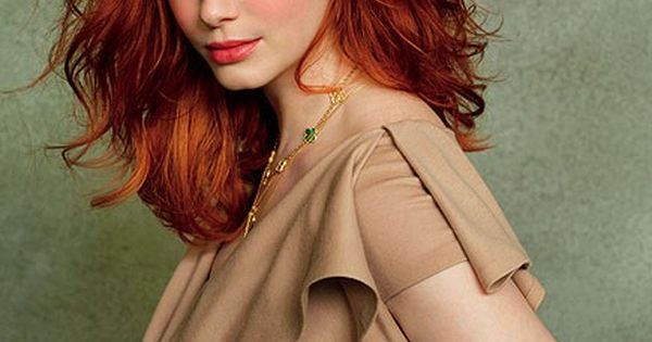 Christina Hendricks Va-Va-Voom red! For this hair color, ask for Aloxxi Hair