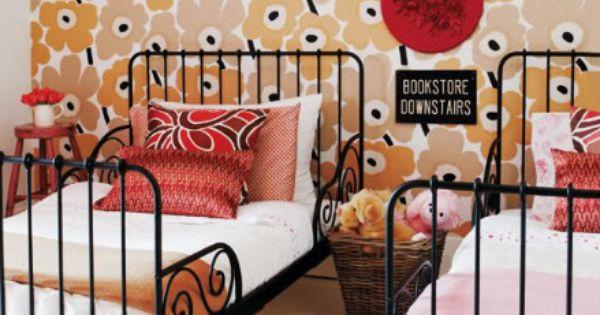 Cool kids room ni os pinterest papel de pared - Papel pared nina ...