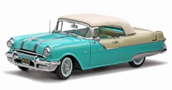 Pontiac Starchief Convt Blue Platinum Edition Model Car