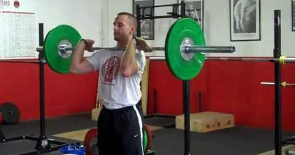 How To Get Stronger Healthoria Power Clean Cleaning Fitness Training