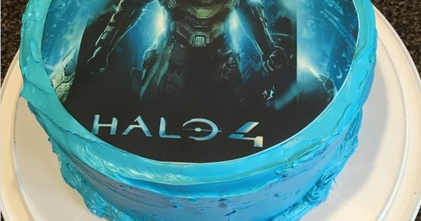 Edible Cake Images Halo : Halo Cake, Halo Edible Topper, Halo Party Supplies, Halo ...