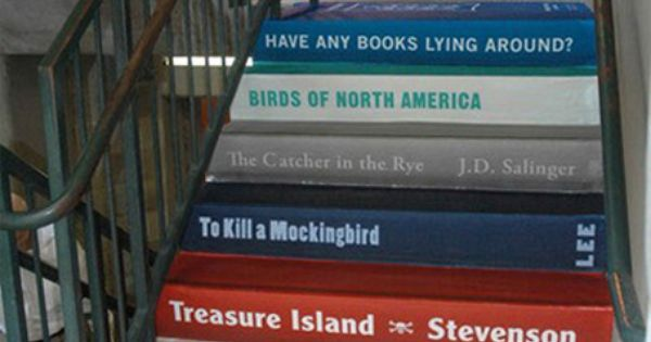 How awesome would this be in your house (school, library)? Wonderful!