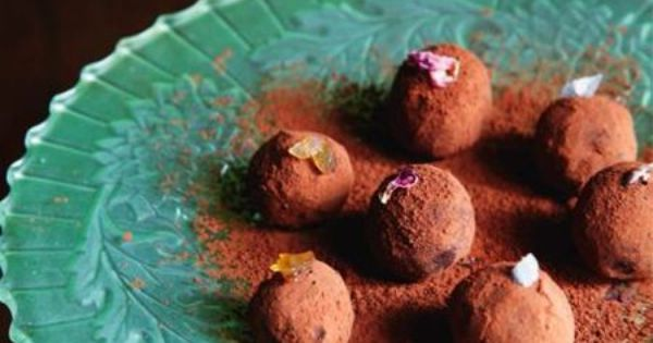 Chocolate Truffles Three Ways (with Ginger, Salted Caramel and Rose ...