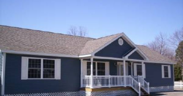 Adding Porch To Doublewids: Great Idea To Add Character To A Plain Double Wide