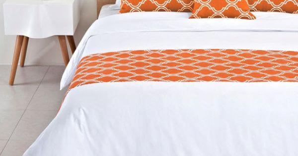 Burnt Orange King Size Bed Skirt
