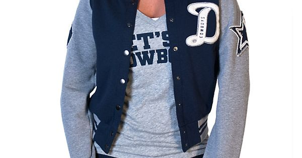 Dallas Cowboys Womens Grenadiers Letter Jacket | Outerwear | Other | Womens