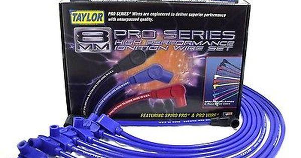 Taylor Cable 74628 8mm Spiro Pro Ignition Wire Set Spiro Ignite Ebay