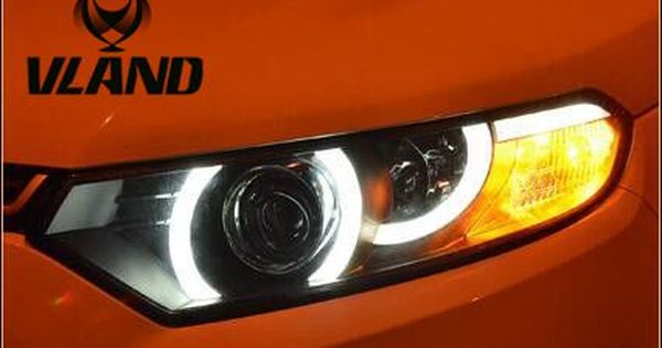 Free Shipping Vland Factory Headlamp For Ecosport Ecospor Led Headlight 2013 With Projector Lens And Plug And Play Des Led Headlights Projector Lens Car Lights