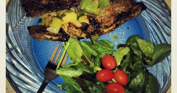 steak grilled flank steak with tomatoes red onion and balsamic grilled ...