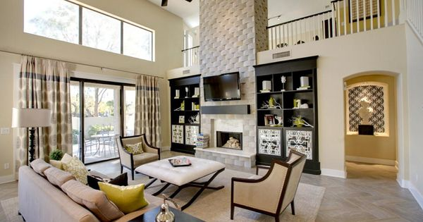 AZ Ocotillo Camelot Cove Family Room Pinterest Fireplac