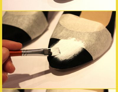 restyle old shoes. Very cool idea