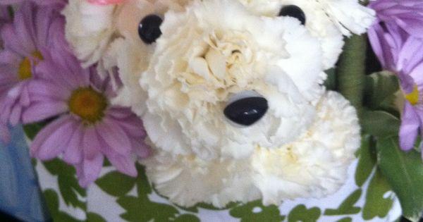 Teddy Bear Flower Arrangement