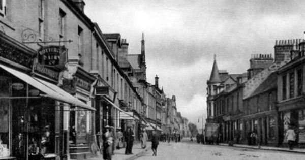 Old Photograph Of Alloa Scotland Old Photos Scotland Alloa