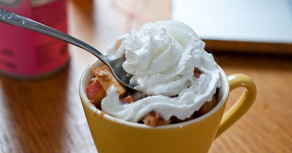 Healthy Apple Pie… In A Cup! apple Dessert healthy Dessert health Dessert|