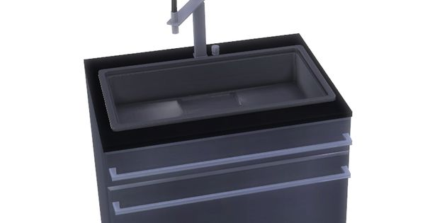 ShinoKCR's Stainless Steel Kitchen - Sink | Sims 4 ...