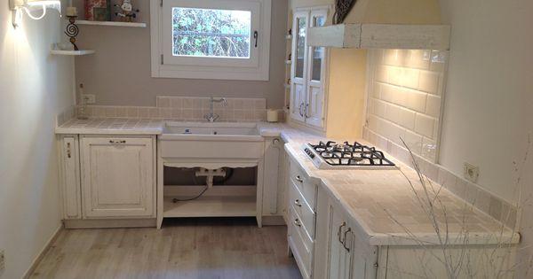 Cucina in muratura in stile provenzale home sweet home pinterest cucina cucine e arredamento - Cucine in muratura stile provenzale ...