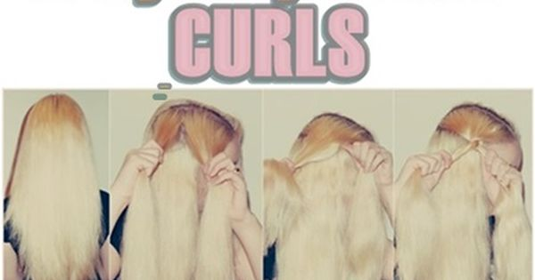 Easy way to get curls