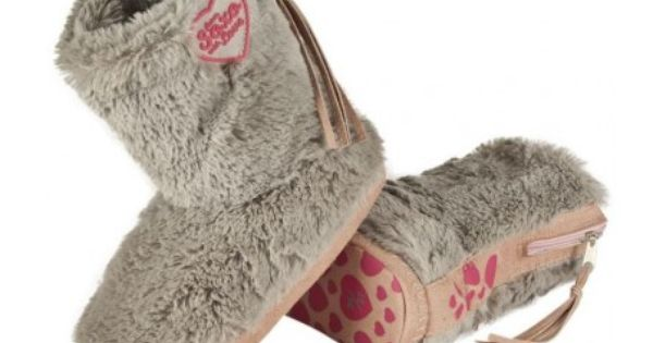 Futrzane Bambosze Sliczne Kapcie Wysokie Soxo Love Slippers Slide Slipper Shoes