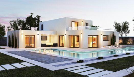 Constructeur maison contemporaine Lyon nord | Maison arlogis ...