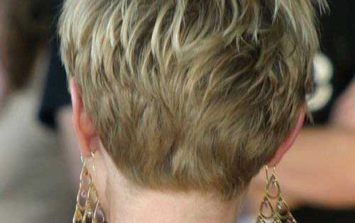 Hair Ideas For Short Hair Pinterest: Cute Pixie Cut Back View