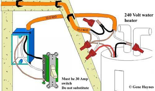 A 240 Volt Switch Wiring