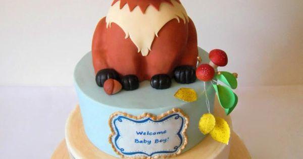 Forest Fox Baby Shower Cakes I Envy Pinterest Fox
