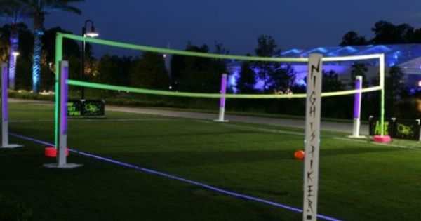 Glow in the dark volleyball!!!! I need to play glow in the ...