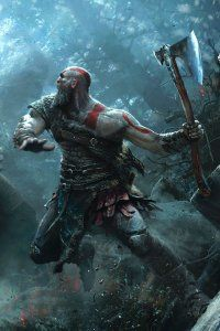 Video Game God Of War 2018 God Of War Mobile Wallpaper