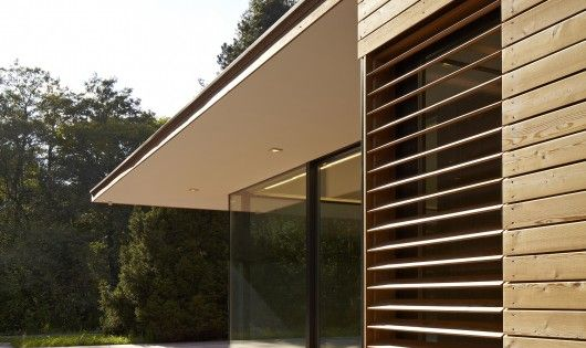 Exterior Cladding For Houses >> Haus Hainbach / MOOSMANN | Timber cladding and Louvre