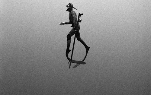 black and white underwater photos - Kanoa Zimmerman