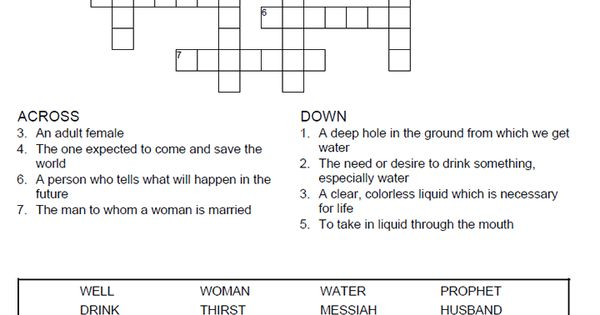 Woman at the well puzzle