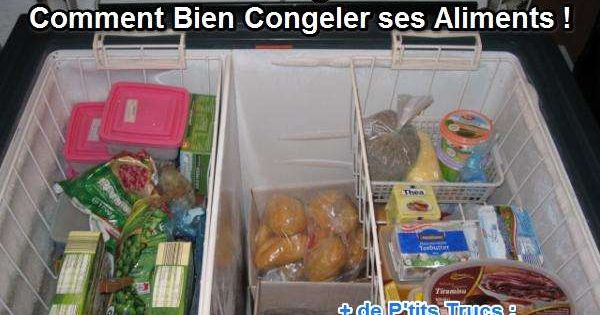 Le b a ba de la cong lation ou comment bien congeler ses for Comment conserver les aliments