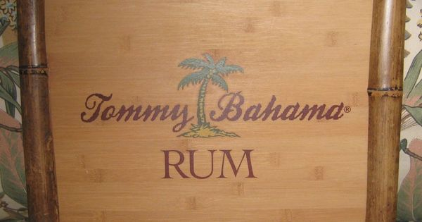 Tommy Bahama Rum Wood Sign Outdoor Bar Pinterest