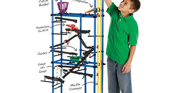 Chaos Tower Marble Run Instructions